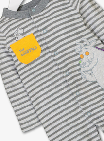 Online Exclusive The Gruffalo Grey Stripe Sleepsuit (newborn- 24 months)