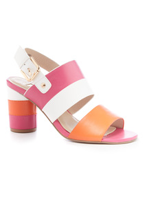 Colour Block Heels