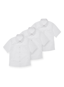 White Woven Blouse 3 Pack (17-18 years)