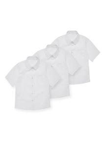 Girls White Woven Shirt 3 Pack (17-18 years)