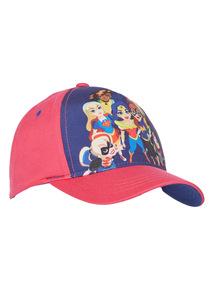 Pink Superhero Girls Cap (2 - 12 years)