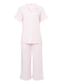 Gingham Traditional Pyjamas