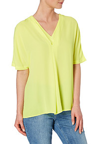 Lime Layered Top