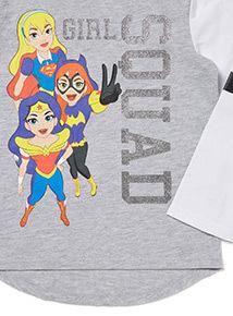 Black Super Girl Squad Pyjamas (1.5-12 years)