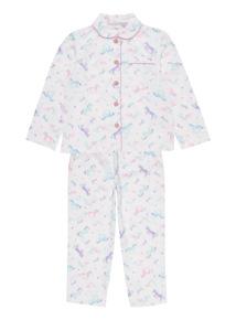 White Dreamy Woven Mix and Match Pyjama Set (1-12 years)