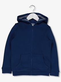 Blue Zip Through Hoody (3-14 years)