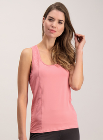 Active Pink Racer Back Top