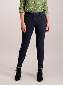 Blue Dark Denim Skinny Jeans