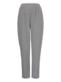 Grey Turn Up Jogger