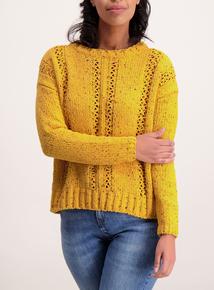Online Exclusive Mustard Chenille Jumper
