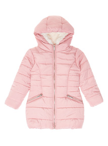 Pink Quilted Puffer Jacket (3-12 years)