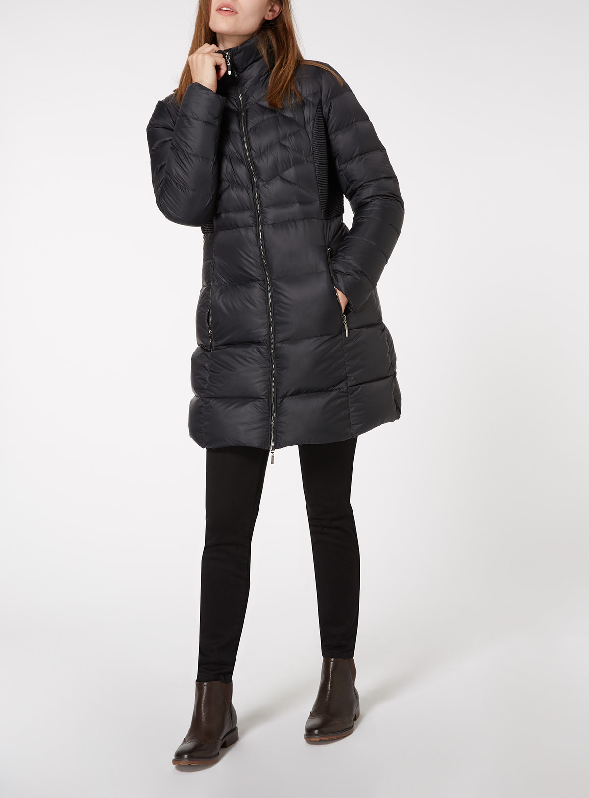 Womens Quilted Feather And Down Parka | Tu clothing