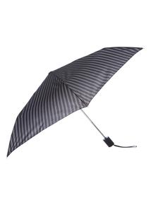 Black Striped Umbrella