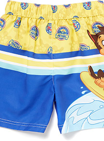 Multicoloured Paw Patrol Swim Shorts (1-6 years)