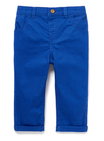 Blue Chino Trousers (0-24 months)