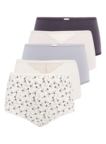 Lace Full Briefs 5 Pack
