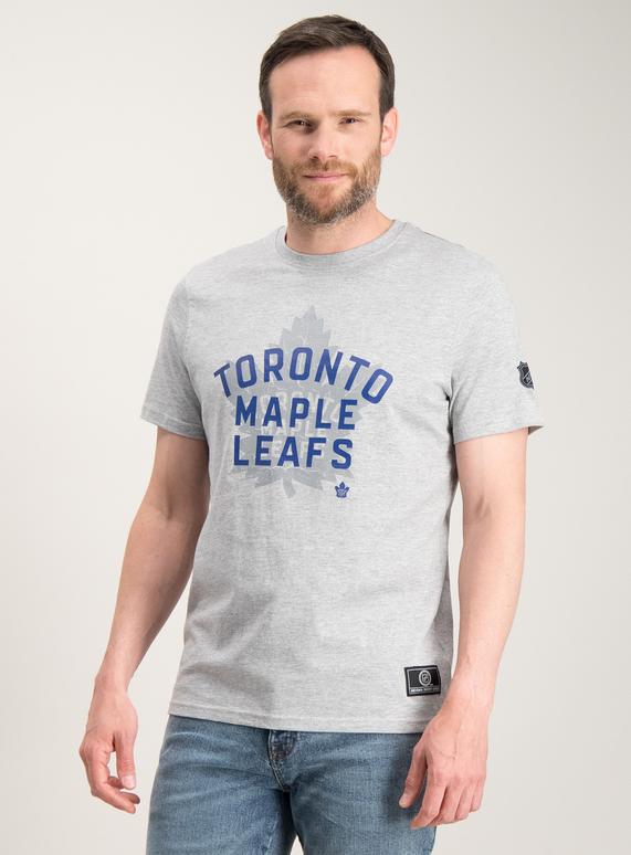 wholesale dealer 90aeb 69922 SKU: OL SUPPORTERWEAR 8 - NHL TORONTO MAPLE LEAFS TEE:Charcoal