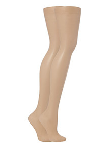 Tan Shimmer Tights 2 Packs