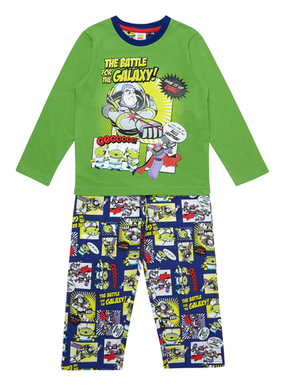 d9b6025f45 Kids Boys Green Toy Story Pyjamas (3-12 years)