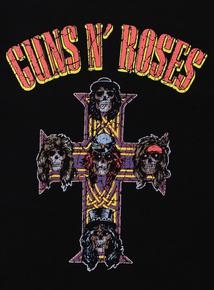 Black Guns N' Roses T-Shirt (3-14 Years)