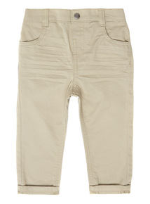 Boys Stone Woven Trousers (0 - 24 months)