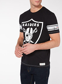 Black NFL Raiders Tee
