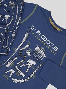 Natural History Museum Blue Diplodocus Pyjamas (2-12 years)
