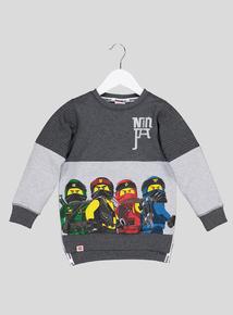 Lego Ninjago Grey Sweatshirt (5- 12 Years)