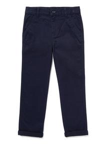 Navy Chino Trousers (3-14 years)