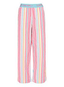 Multicoloured Stripe Pyjama Bottoms