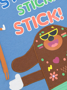 Blue 'Hey Duggee' Stick T-Shirt (9 months-6 years)