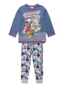 Multicoloured Disney Marvel Guardians Of The Galaxy PJ Set
