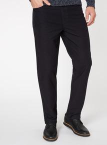 Navy Moleskin Trousers