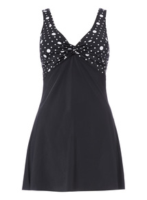 Online Exclusive Multi Spot Swimdress