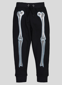 Halloween Black Skeleton Jogger (3-14 years)