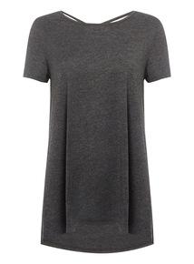 Grey Crossback Spa T-Shirt