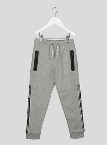 Grey Side Tape Joggers (3-14 years)
