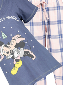 Christmas Disney Mickey & Minnie Mouse Pyjamas