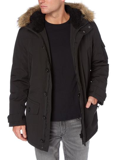 81b42c0068854 Menswear Black Parka Coat
