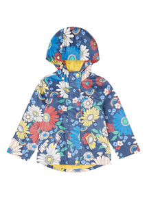 Multicoloured Floral Mac (9 months - 6 years)