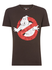 Black Ghost Buster Halloween Tee
