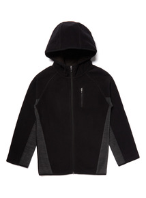 Black Fleece Hoody (3 Months- 14 Years)