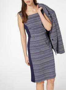 Printed Illusion Dress