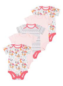 Sunset Safari Bodysuits 5 Pack (0 - 24 months)
