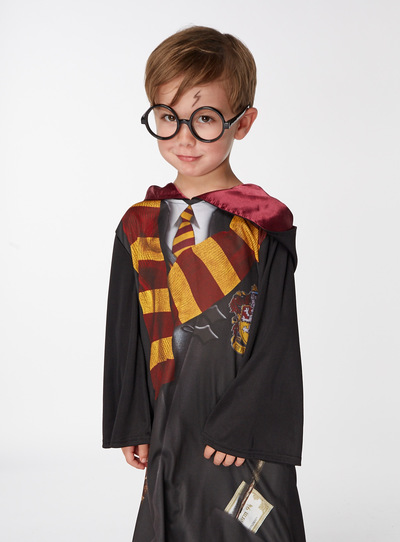 Black Harry Potter Costume (3-12 years)