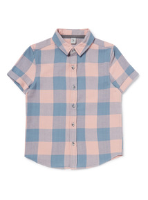 Multicoloured Check Shirt (3-14 years)