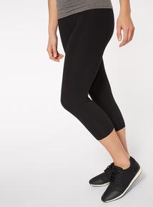2 Pack Black Cropped Leggings