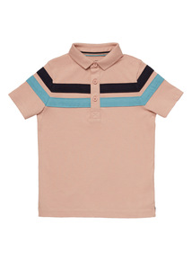 Multicoloured Stripe Polo Shirt (3 - 12 years)
