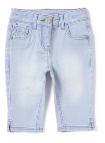Denim Light Wash Capri Jeans (3-14 years)