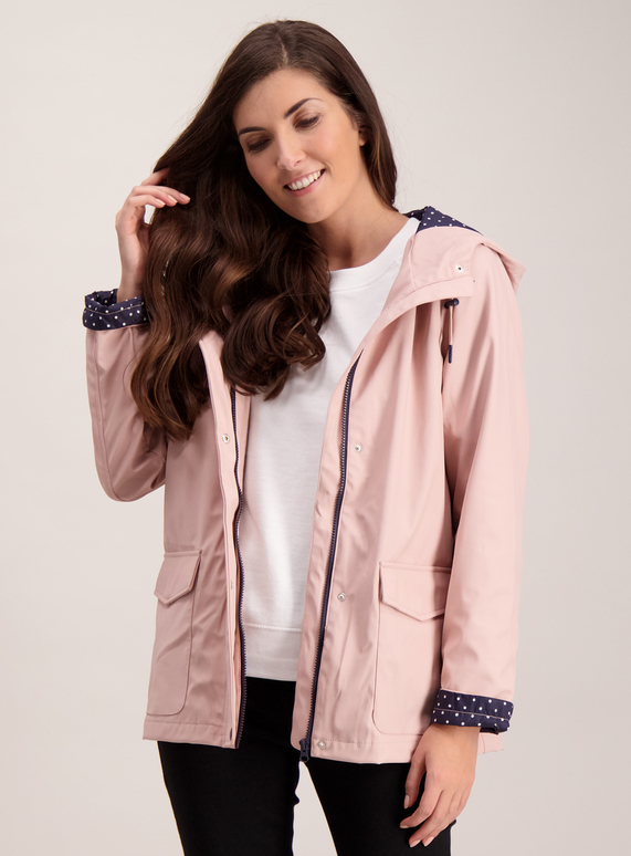 best selling sale uk official SKU Rubber Rain Coat:Pink